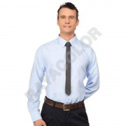 Camisa Oxford 100D. Manga larga.
