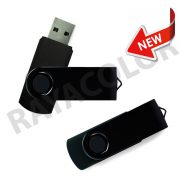 Pendrive giratorio Black 16G